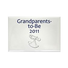Grandparents-to-Be 2011 Rectangle Magnet