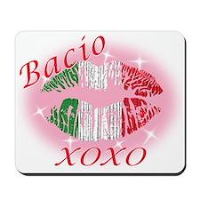 Italian kiss Mousepad
