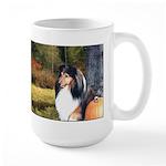 Autumn Sheltie Large Mug