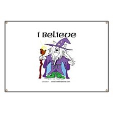 I BELIEVE Cat Banner