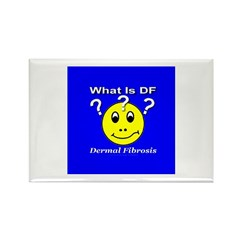 What is DF Smiley? Rectangle Magnet (10 pack)