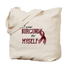 Wear Burgundy - Myself Tote Bag