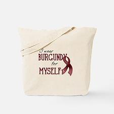Wear Burgundy - Myself Tote Bag