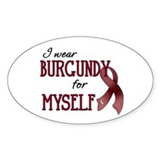 Wear Burgundy - Myself Decal