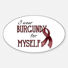 Wear Burgundy - Myself Decal