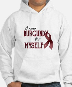 Wear Burgundy - Myself Hoodie