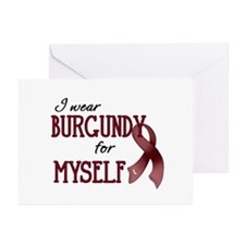 Wear Burgundy - Myself Greeting Cards (Pk of 20)