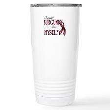 Wear Burgundy - Myself Travel Mug