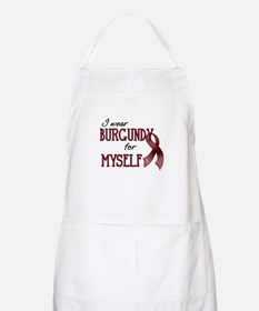 Wear Burgundy - Myself Apron