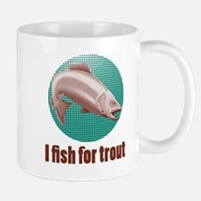 speckled trout jumping Mug