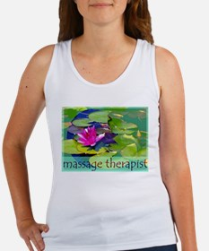 Massage Therapist / Waterlily Women's Tank Top