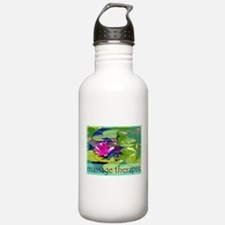 Massage Therapist / Waterlily Water Bottle