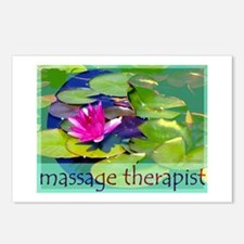 Massage Therapist / Waterlily Postcards (Package o