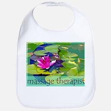 Massage Therapist / Waterlily Bib