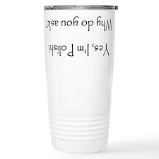 Funny Polish design Travel Mug