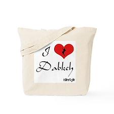 I Heart Dabkeh Tote Bag