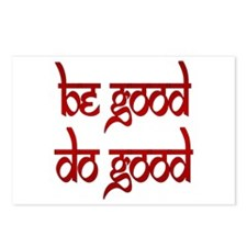 Be Good. Do Good. Postcards (Package of 8)