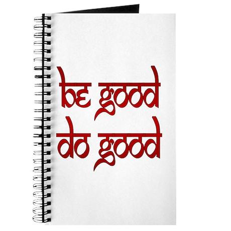 Be Good. Do Good. Journal