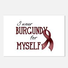 Wear Burgundy - Myself Postcards (Package of 8)