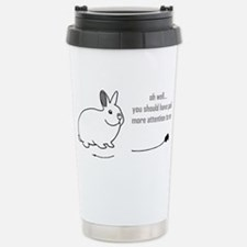 oh well... (bunnies chew cabl Stainless Steel Trav