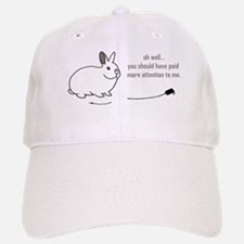 oh well... (bunnies chew cabl Baseball Baseball Cap