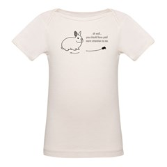 oh well... (bunnies chew cabl Organic Baby T-Shirt