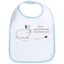 oh well... (bunnies chew cabl Bib
