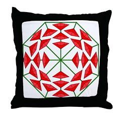 Eclectic Flower 358 Throw Pillow