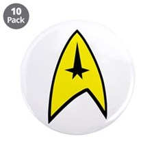 """Full Command Insignia 3.5"""" Button (10 pack)"""