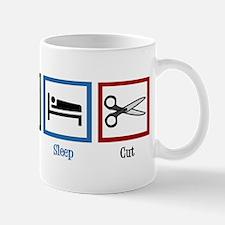 Eat Sleep Cut Mug