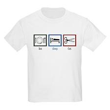 Eat Sleep Cut T-Shirt