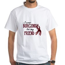 Wear Burgundy - Friend Shirt