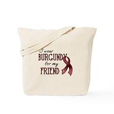 Wear Burgundy - Friend Tote Bag