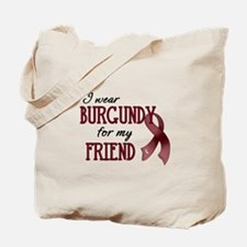Wear Burgundy - Friend Tote Bag