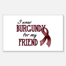 Wear Burgundy - Friend Decal