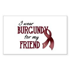 Wear Burgundy - Friend Decal