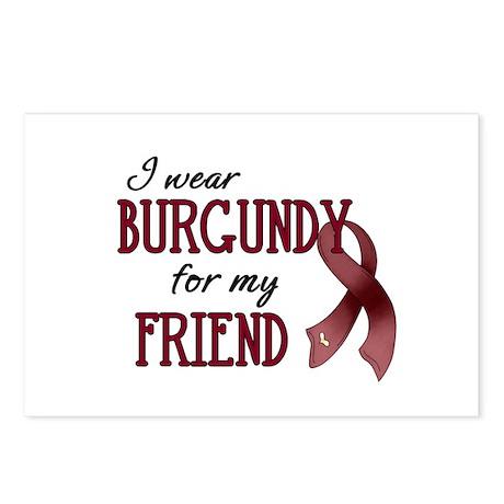 Wear Burgundy - Friend Postcards (Package of 8)