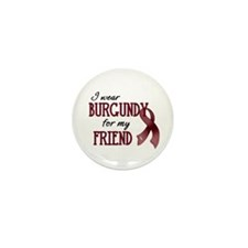 Wear Burgundy - Friend Mini Button (10 pack)