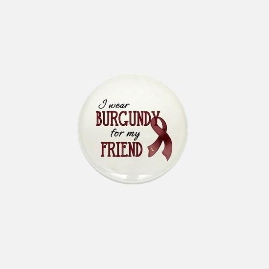 Wear Burgundy - Friend Mini Button