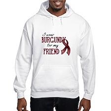 Wear Burgundy - Friend Hoodie