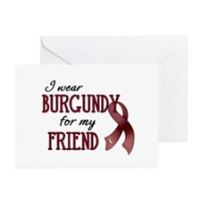 Wear Burgundy - Friend Greeting Cards (Pk of 20)