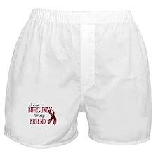 Wear Burgundy - Friend Boxer Shorts