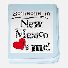 New Mexico Loves Me Infant Blanket