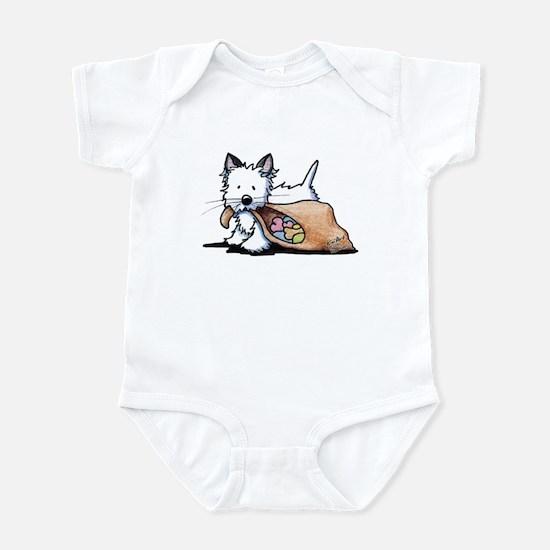 Westie Dog Halloween Cat Infant Bodysuit