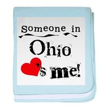 Someone in Ohio Infant Blanket