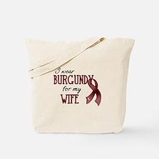 Wear Burgundy - Wife Tote Bag