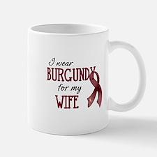 Wear Burgundy - Wife Mug