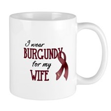 Wear Burgundy - Wife Mug