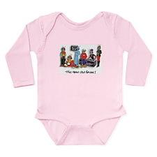 B-Buggz Crew Long Sleeve Infant Bodysuit