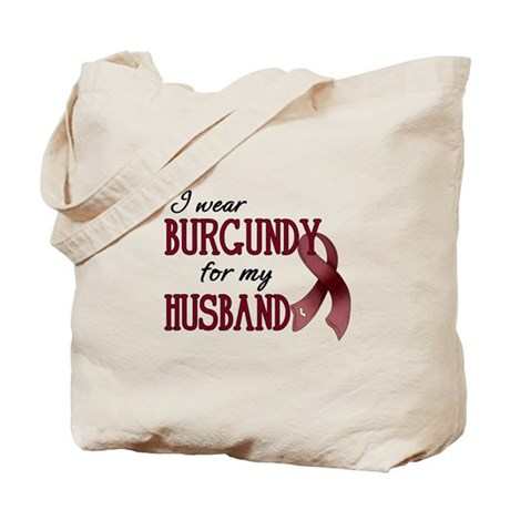 Wear Burgundy - Husband Tote Bag